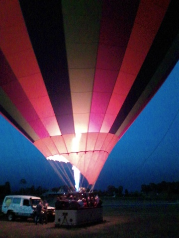 Went ballooning … WOW it is still an amazing experience!