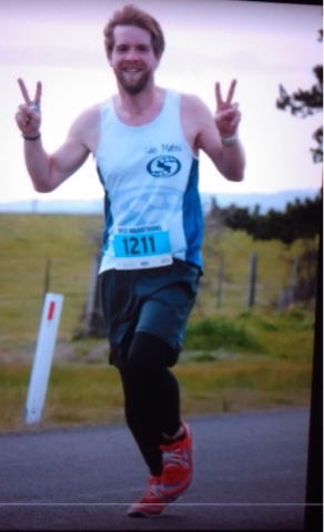 I am so proud of my 3 sons, and especially Will's PB for the Ross Marathon 2016